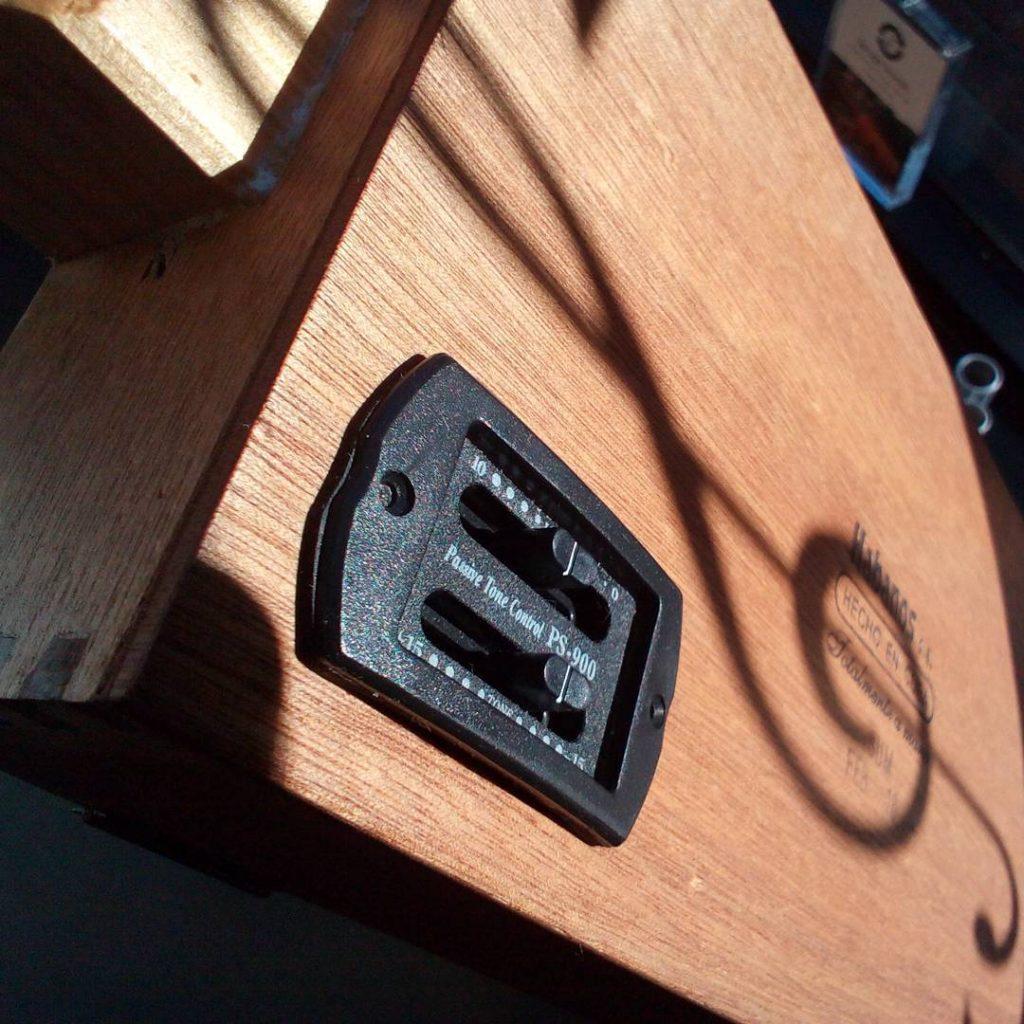 UK electric cigar box guitar